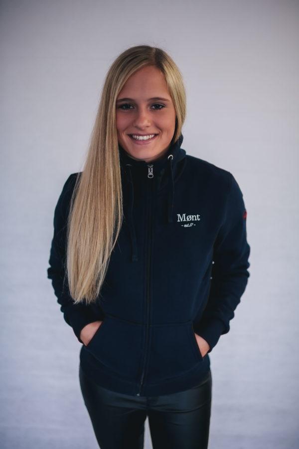Damen Malmö Zipper - dunkelblau