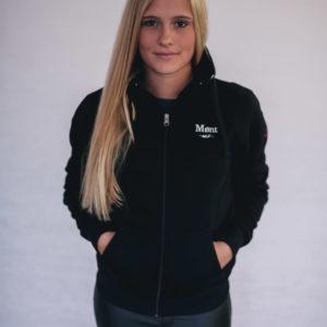 Damen Malmö Zipper - schwarz