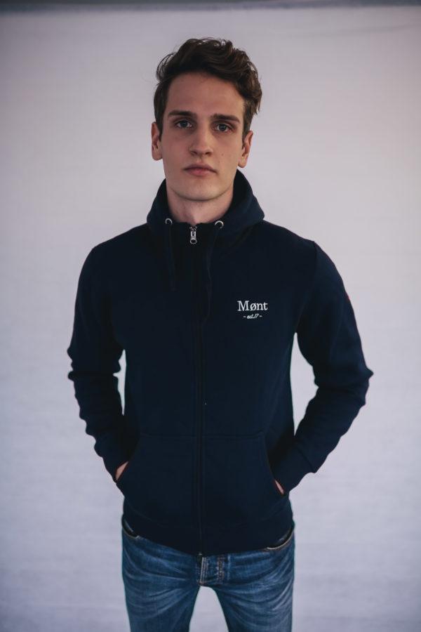 Herren Malmö Zipper - dunkelblau