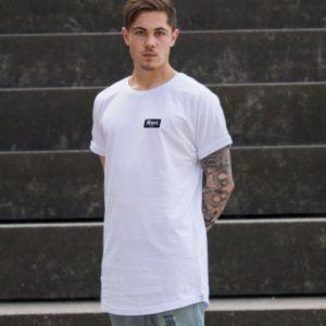 Herren Brøndby Oversize-Shirt - weiß