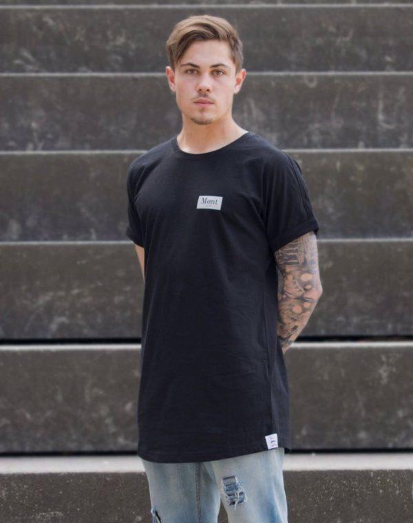 Herren Brøndby Oversize-Shirt - schwarz