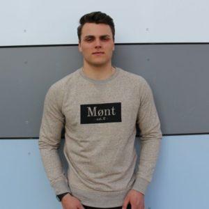 Herren Brøndby Sweatshirt - braun meliert
