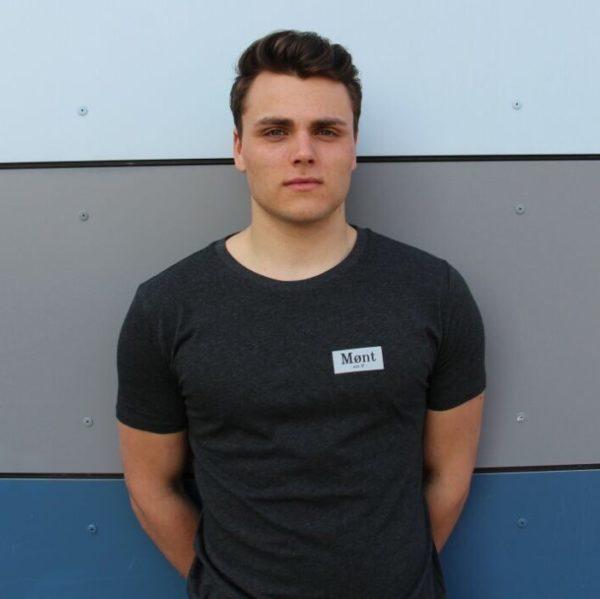 Herren Brøndby T-Shirt - dunkelgrau2