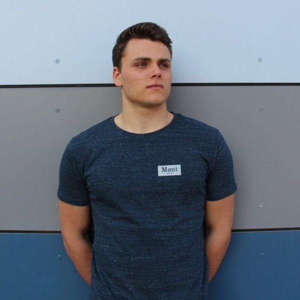 Herren Brøndby T-Shirt - dunkelblau