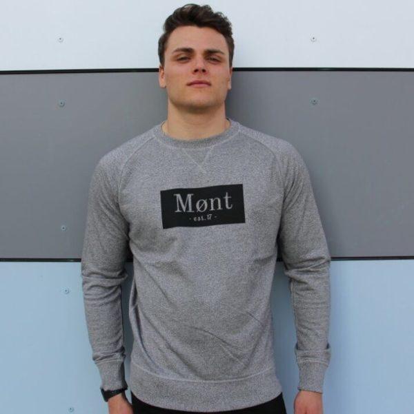 Herren Brøndby Sweatshirt - grau meliert