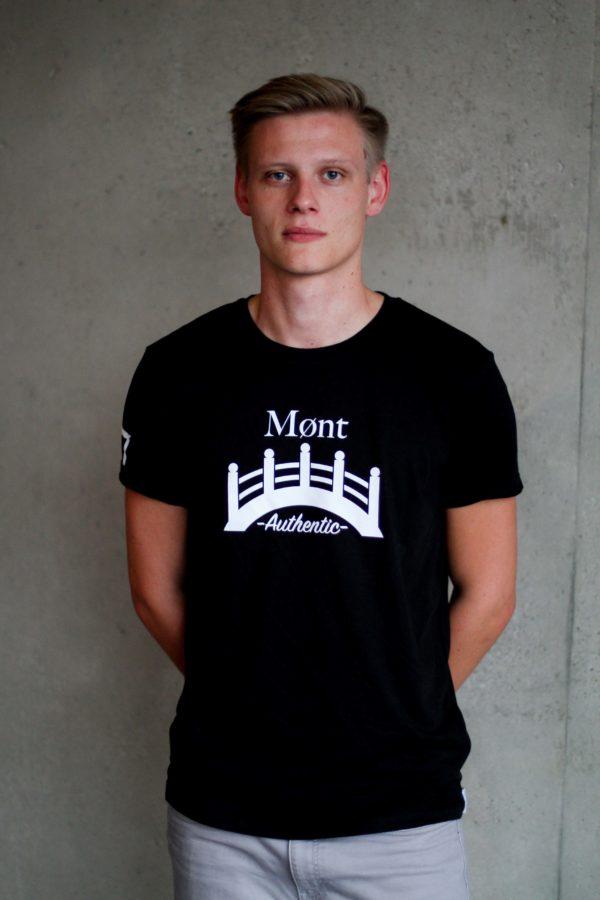 Herren Øresund T-Shirt - schwarz