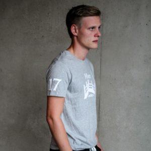 Herren Øresund T-Shirt - hellgrau