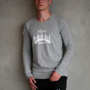 Herren Øresund Longsleeve - hellgrau