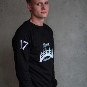 Herren Øresund Sweatshirt - schwarz