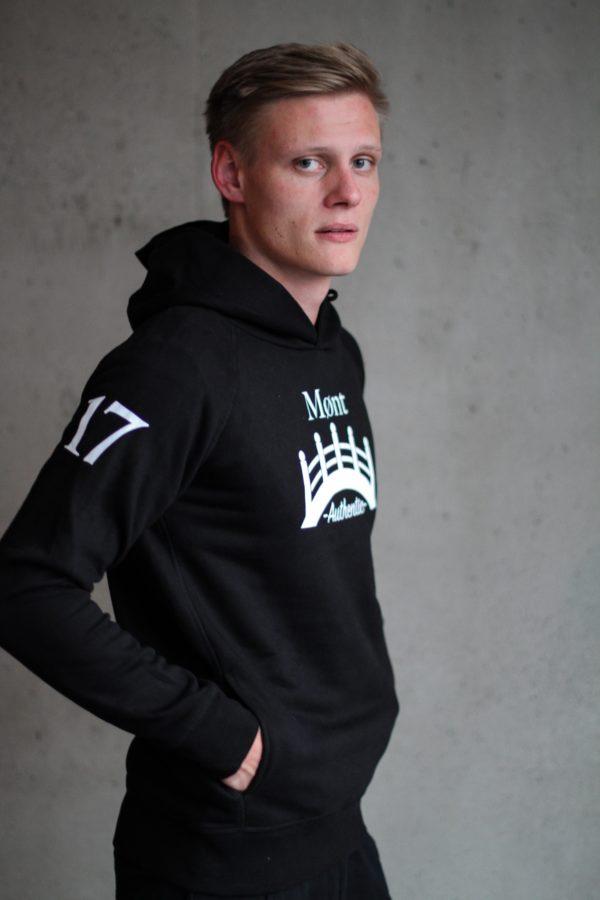 Herren Øresund Hoodie - schwarz