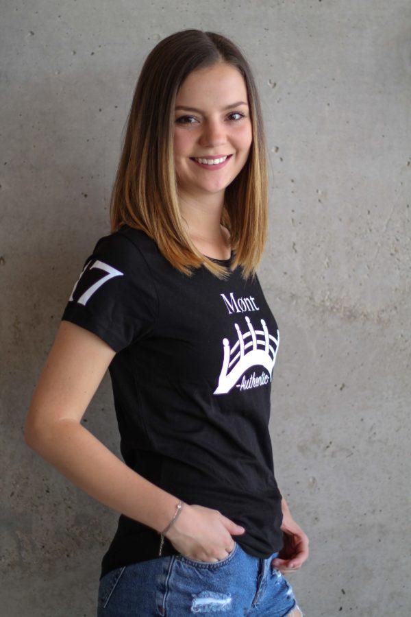 Damen Øresund T-Shirt - schwarz
