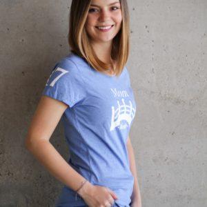 Damen Øresund T-Shirt - hellblau