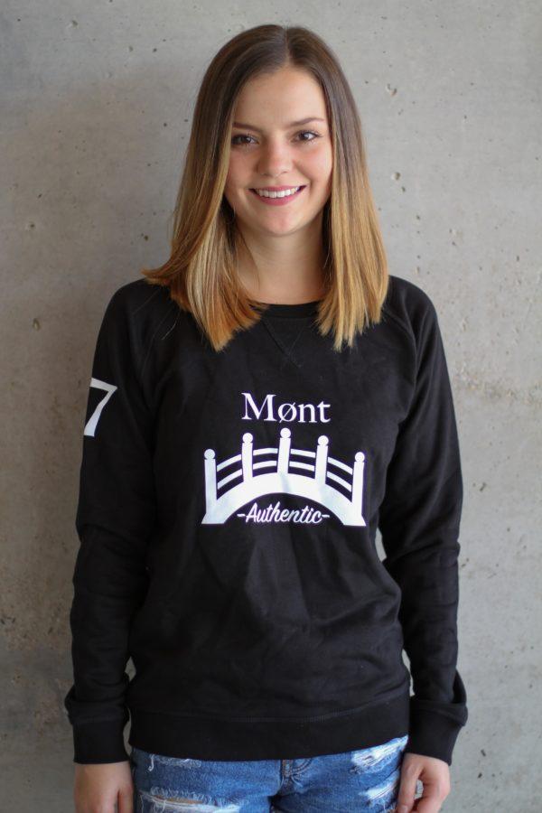 Damen Øresund Sweatshirt - schwarz