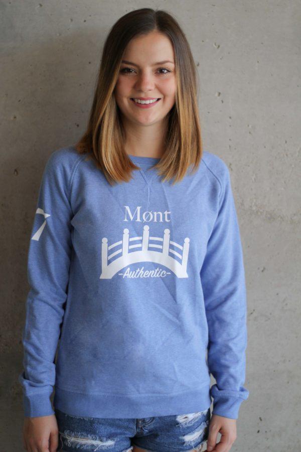 Damen Øresund Sweatshirt - hellblau