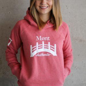 Damen Øresund Hoodie - rosa