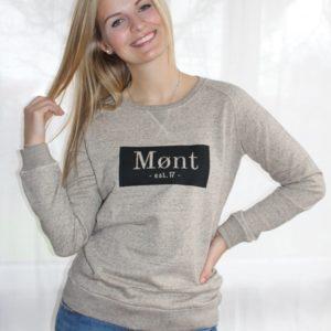 Damen Brøndby Sweatshirt - braun meliert
